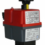 JJ On Off Smart Electric Valve Actuator Type J3 Model H85-800-width