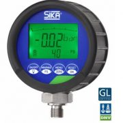 The Sika D2 Digital Pressure Gauge is battery powered and has a backlight for high visibility when testing